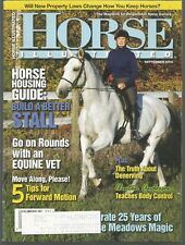 Horse Illustrated September 2000 Horse Housing/Equine Vet/Denerving/Body Control