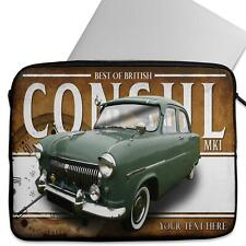 Personalised Laptop Cover FORD CONSUL MK1 Neoprene Sleeve Classic Car CL08