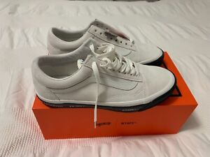 VANS VAULT X WTAPS, UK 8.5, White & Black, Deadstock