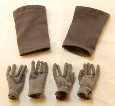DiD WW2 German Panzer Gunner Gloves & Touque X2 Alois Baldric Curtis 1/6 Scale