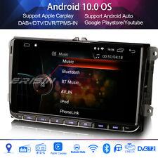 "9""Autoradio Android 10.0 DAB+4G VW PASSAT GOLF Polo TIGUAN Android Auto Carplay"