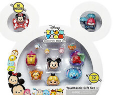 Disney Tsum Tsum Stack Ems Mickey Case 16 Pieces 12 Figures Brand New In Packet