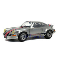 SOLIDO 1/18 1973 PORSCHE 911 RSR BACKDATING OUTLAW DIE-CAST SILVER S1801112