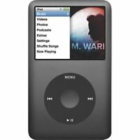 Apple iPod Classic 6th Generation Space Grey / Black (80 GB) - PRISTINE
