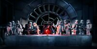 Last Supper - Star Wars Iconic Fantasy Movie Wall Art Poster / Canvas Pictures