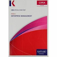 E2 Enterprise Management - Study Text, Paperback, Brand New, Free P&P in the UK