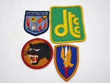 Lot Of 4 Fire Department Firefighter Arm Sleeve Patches Vintage New