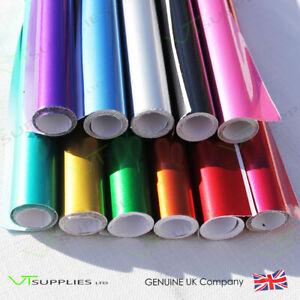 Candy Metallic Gloss Car Vinyl Wrap * Air Channel Film * All Colours & Sizes