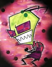 Invader Zim cartoon movie decor wall art print.