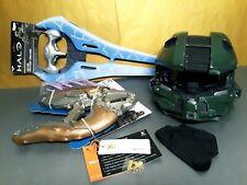 Halo Master Chief Xcoser Cosplay Helmet Xbox game Energy Sword Needler Microsoft
