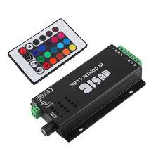 24 Key Music IR Remote Controller Sound Sensitive for RGB LED Strip Light LS