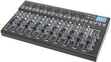 Citronic Cm10 Live Audio Sound Mixer XLR Band PA Studio Delay FX USB SD Player