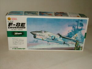 HASEGAWA  MILITARY AIRCRAFT MODEL KIT 1:72 L.T.V.F-8E CRUSADER U.S NAVY FIGHTER