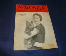 Vintage News-Week December 12, 1936 Wallace Simpson cover
