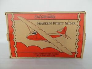 ERTL Collectibles 1:38th Scale Die-Cast FRANKLIN Utility Glider w/stand