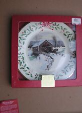 Lenox annual Holiday Plate for 2007 New in Box 1st Quality made in Usa 17th
