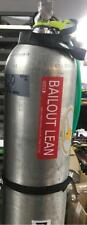 Bailout Lean Cylinder Tank  ID Decal Sticker Rebreather Tech Trimix Scuba