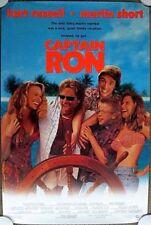 CAPTAIN RON ~ Original (1992) 27x40 Movie Poster KURT RUSSELL ~  MINT CONDITION!
