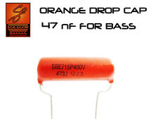 47 nF SPRAGUE ORANGE DROP CAP FOR BASS CAPACITOR UPGRADE