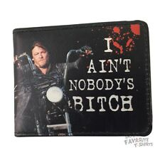 The Walking Dead Daryl Dixon Nobody's Bitch Licensed Adult Bi-Fold Wallet