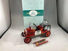 New ListingHallmark 1999 Kiddie Car Classics 1924 Toledo Fire Engine #6 Nib