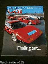 CAR MAGAZINE - FINDING OUT... APRIL 1994