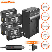 1500mAh Panasonic DMW-BLD10E DMW-BLD10PP Battery or charge For DMC-GF2 GX1 G3 TP