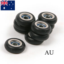 AU10x 695Z Roller Wheel Black Plastic Sealed Deep Groove Ball Bearing 5*23*7.5mm