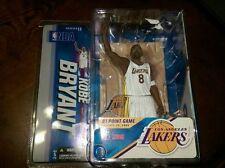 Rare McFarlane NBA Kobe Bryant Series 11 (White Jersey) 81 Point Game new in box
