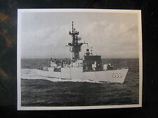 Vintage US Navy 8 x 10 Press Paper Photo USS Marvin Shields DE-1066 571