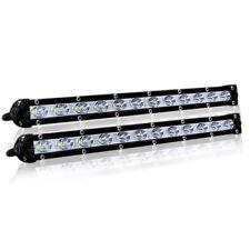 2x 13 in (ca. 33.02 cm) LED Luce posto di lavoro per Jeep SUV AUTO BARCA OFFROAD 36 W Lampada Barra di guida