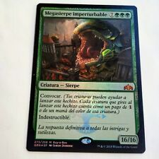 MTG - 1x Impervious greatwurm (Megasierpe) - BaB Promo Foil - Spanish - M/NM