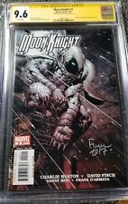 Moon Knight 2 CGC  Signature Series Graded 9.6 signed by David Finch