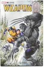 Weapon H 1 Clayton Crain Incredible Hulk 181 Homage Secret Variant Wolverine