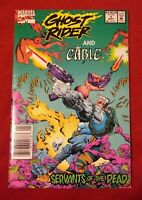 Marvel Comics -- Ghost Rider and Cable #1 Servants of the Dead NEWSSTAND EDITION