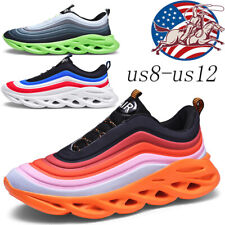 Non-slip Men's Fashion Comfortable Sneakers Breathable Running Tennis Shoes Gym