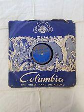 "VINTAGE 78 RPM ""MOVIE BHARTRUHARI 1944's- KHEMRAJ ""-GE 3473 COLUMBIA RECORD"