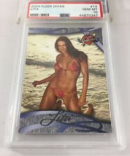 Lita 2004 Fleer Divas Wwe #14 Psa 10 Pop 2 Gem