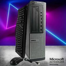 Dell Optiplex Desktop Computer PC Quad Core i5 16GB 1TB HD Wifi Windows 10 Pro