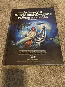Advanced Dungeons and Dragons Players Handbook #2010 1978 TSR vintage