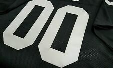 #00 Oakland Raiders Custom Design Football Jersey  Your name and number sewn on.