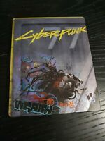 Cyberpunk 2077 Steelbook ONLY | NO GAME | From Collectors Edition PS4 PS5