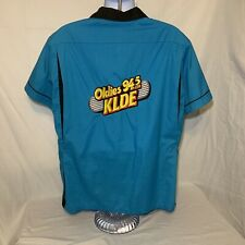 Vintage 50's 60's Made In The Usa Hilton Bowling Shirt Xl Rockabilly Radio