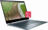 "HP Chromebook x360 14-da0011dx 14"" Touch Intel  i3-8130U 8GB 64GB Chrome OS"