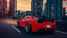 Ferrari Red Poster - 2019 POSTER 24x36