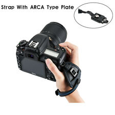 Hand Strap Grip with Metal Base Plate for ARCA SWISS Type Quick Release for DSLR