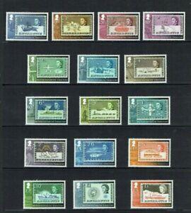 British Antarctic Territory: 2013, 50th Anniversary 1st definitive stamps  MNH