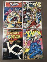 Marvel X-Men Comics Lot Of 4 VF/NM 9.0 #1 Omega Red Cyclops Annual