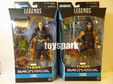 """Hasbro Thor 3 Ragnarok movie Marvel Legend Series 6"""" THOR & LOKI 2 action figure"""