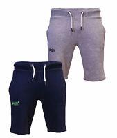 Superdry New Mens Summer Orange Label Lite Jogger Sweat Shorts Navy Grey